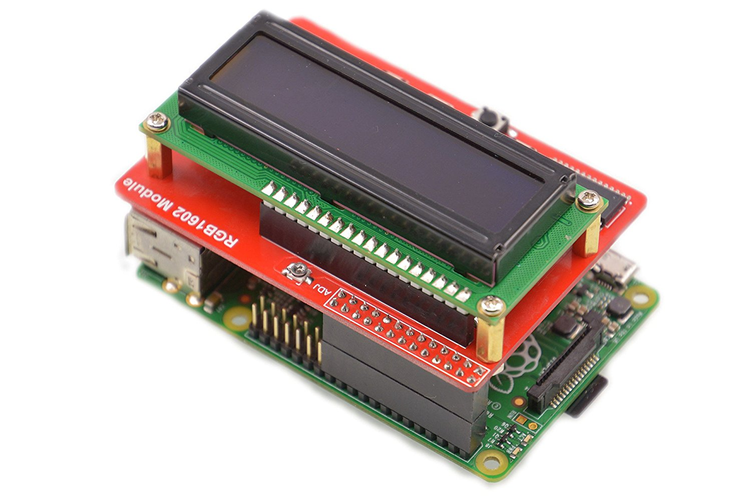 Lcd Display With Keypad For Raspberry Pi Stevens Library Wiringpi I2c Rgb 1602