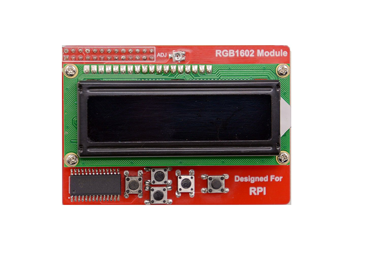 Lcd Display With Keypad For Raspberry Pi Stevens Library Wiringpi I2c Rgb 1602